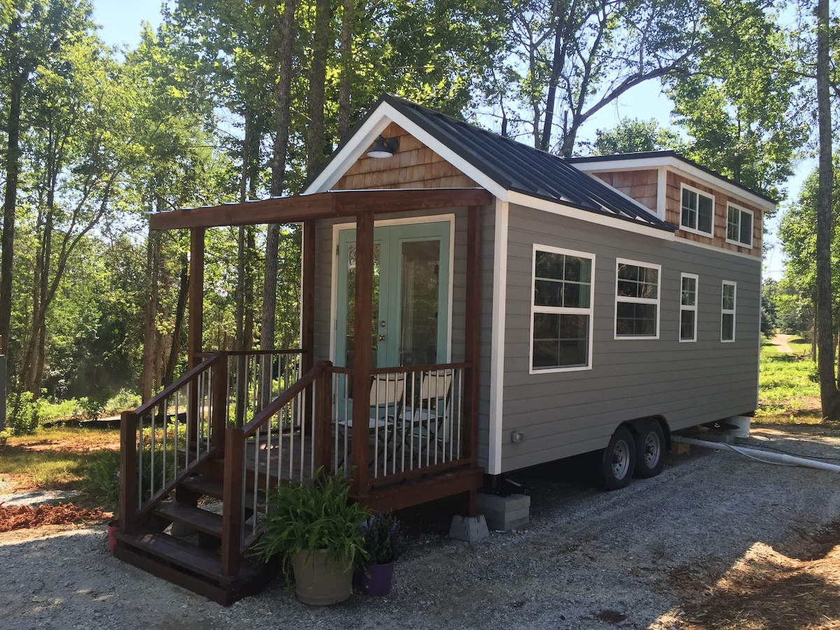Tiny House Retreat No Pets Tiny Houses For Rent In