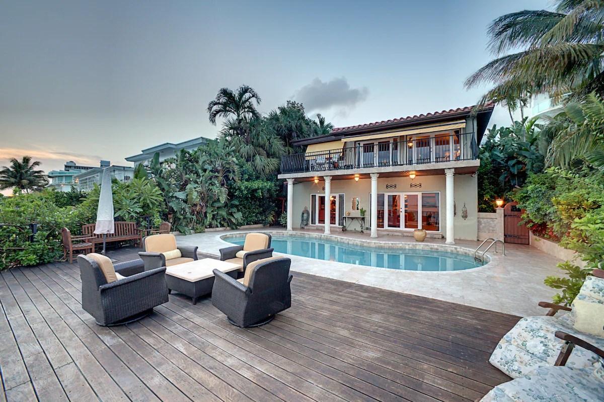 Alquileres vacacionales y casas en la playa en Miami