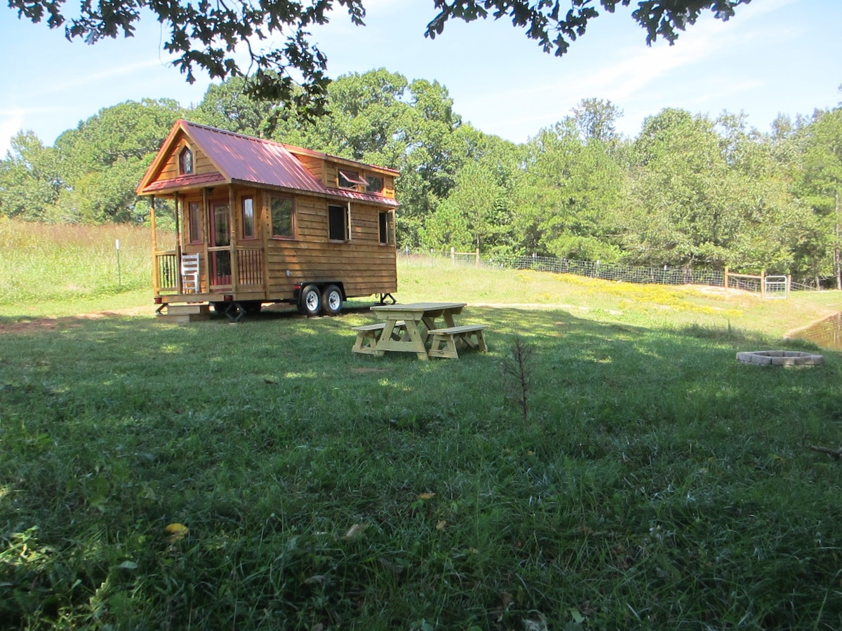 Cozy Tiny House Near Athens Ga Cabins For Rent In