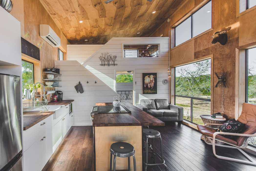 Modern Hill Country Tiny Cabin 2 W Internet Tiny