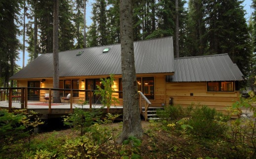 The Back Cabin  Cabins for Rent in McCall Idaho United