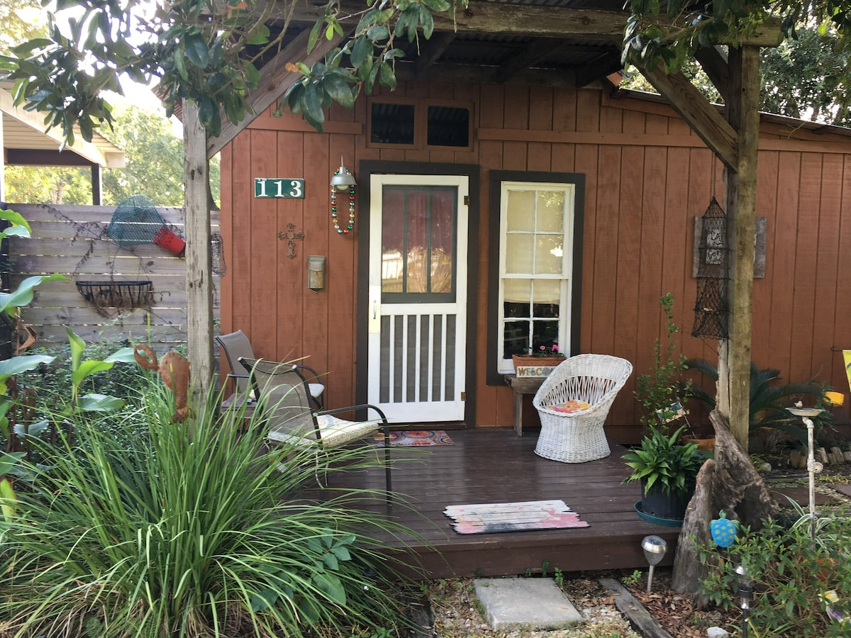 The Cajun Cabin Guest Cottage Guesthouses For Rent In