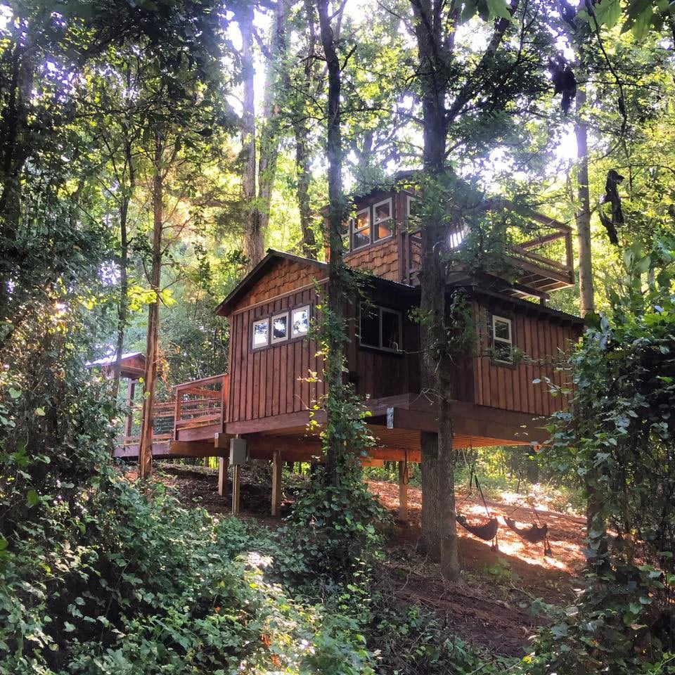 Cherry Treesort Sweet Ashley  Treehouses for Rent in China Grove North Carolina United States