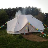 Emperor Bell Tent - 'Loddon Mill Arts Camping' - Tents for ...