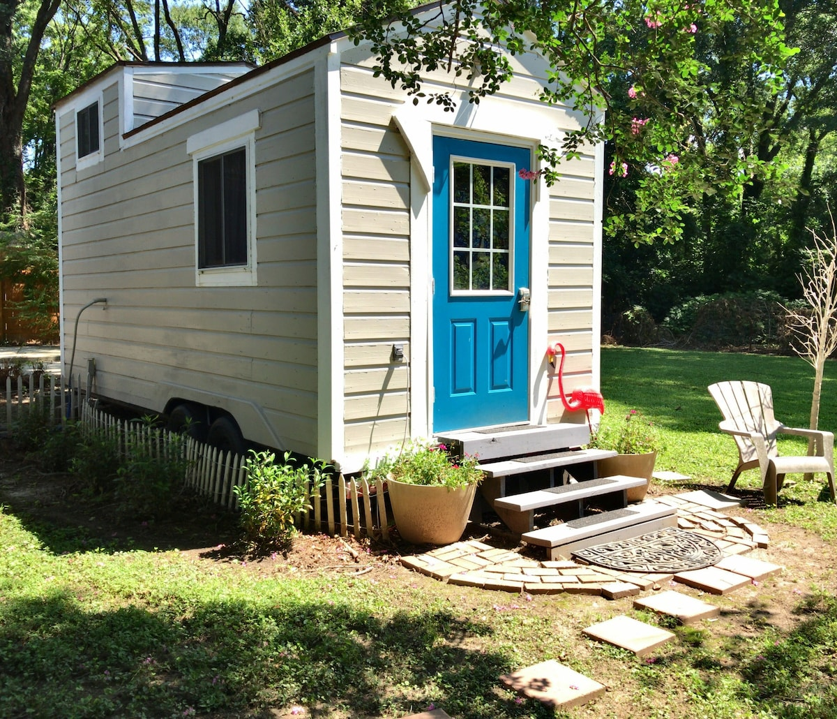Eav Hipster Tiny House Tiny Houses For Rent In Atlanta