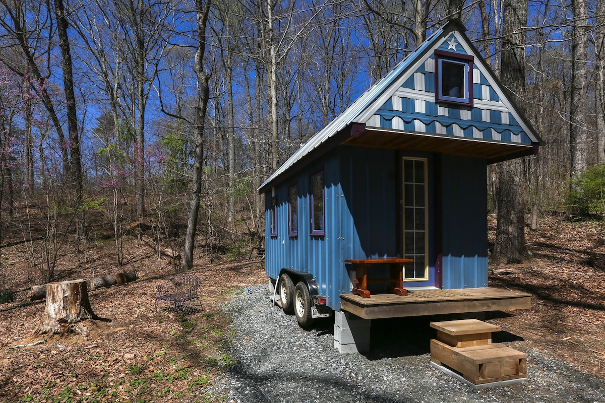 Amazing Tiny House 20min From Asheville Houses For Rent