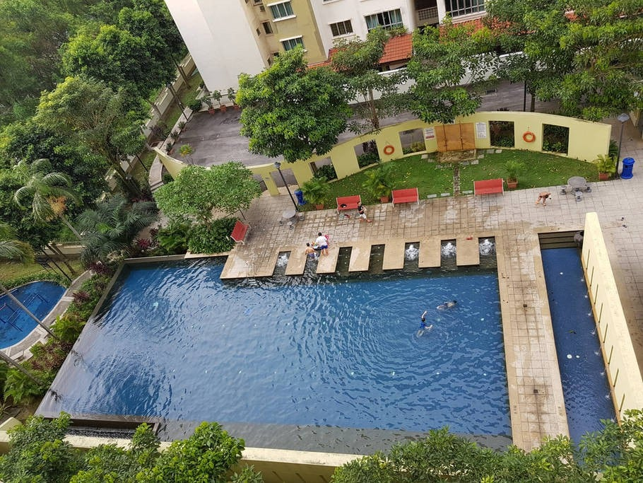 Apartment in Bukit Jalil 7min to train station 2  Appartements en rsidence  louer  Kuala