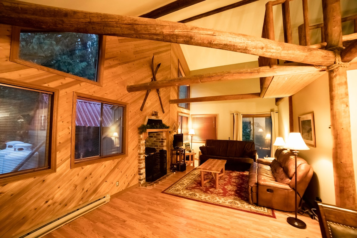 Chalet Vino Rosso  Stevens Pass  Chalets in affitto a