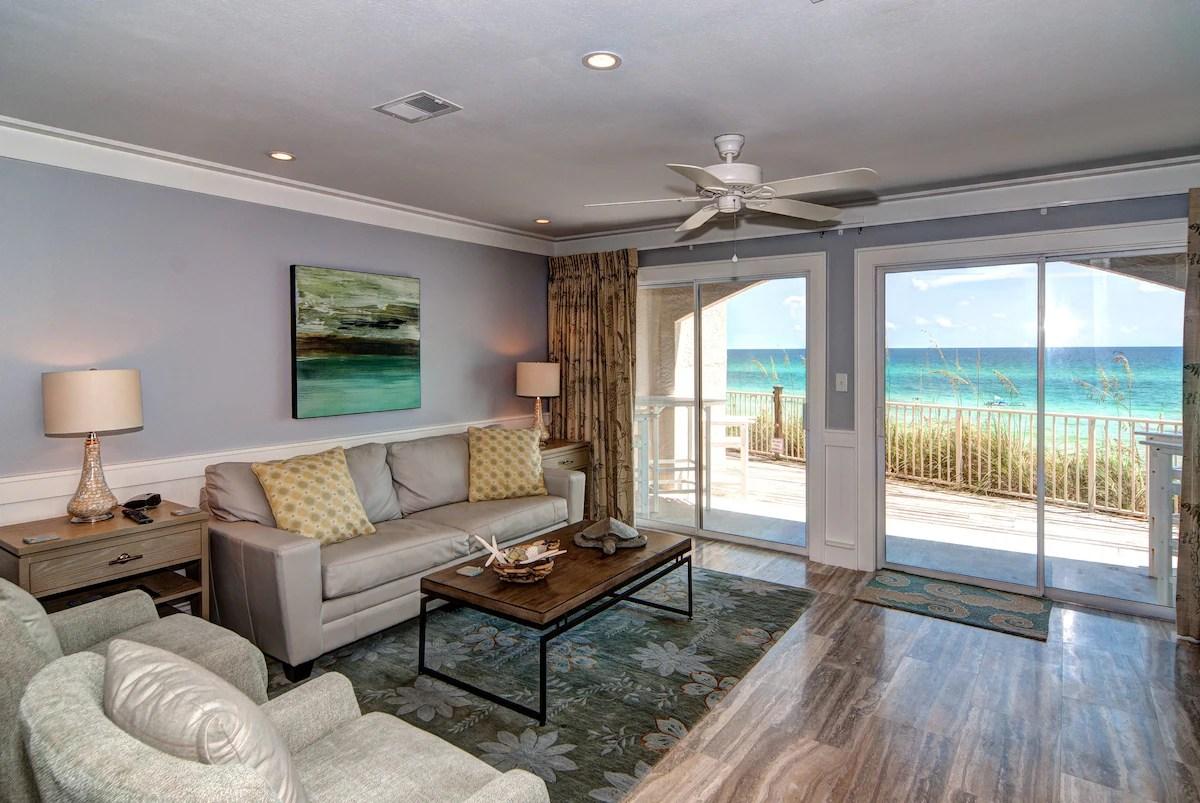 Seagrove Beachfront Condo  Dune Villas 4A  Condominiums