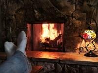 Romantic Cabin, Fireplace, Jacuzzi Tub, Sauna & AC ...