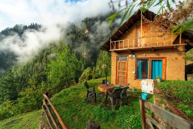 Nabokov's Cottage|Unlimited Internet|Kitchen - Cottages for Rent in Jibhi,  Himachal Pradesh, India