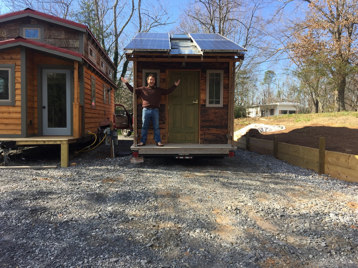 Tiny House For Visitors Cabins For Rent In Asheville