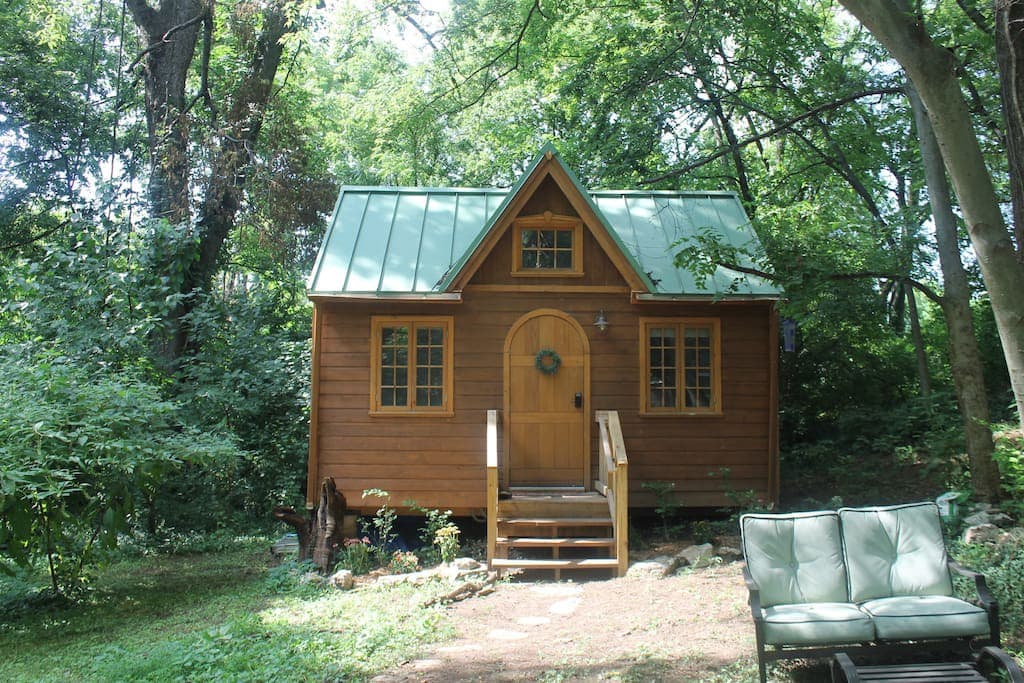 Light Filled Tiny House Luxurious In Town Tiny