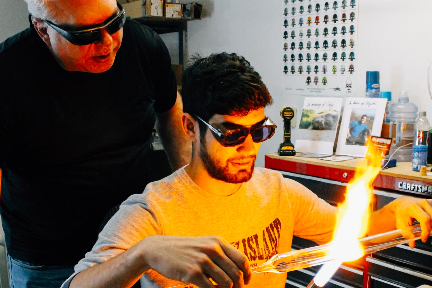 Playing with Fire - Glassblowing! - Airbnb