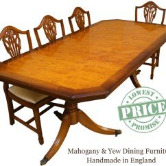 Tulip Table And Chairs Uk Office Without Wheels Arms Reproduction Dining Tables In Yew Mahogany - London, Enfield Lowest Prices