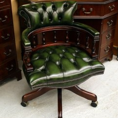 How Are Chairs Made Where To Rent Tables And Fine Quality Yew Mahogany Reproduction Desk A1 Upholstered Hand In England