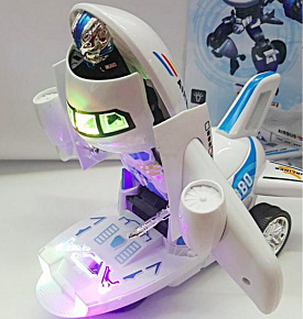 Детская игрушка от 3 лет - самолет-трансформер Airbus