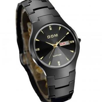 Противоударные стильные мужские часы - DOM