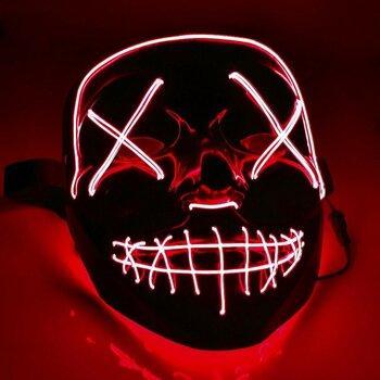 Ультрамодная неоновая маска - Судная ночь