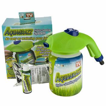 Идеальный новый жидкий газон AquaGrazz