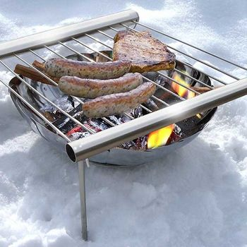 Лёгкий и компактный гриль для барбекю Grilliput