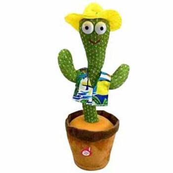 Танцующий кактус - говорящая игрушка