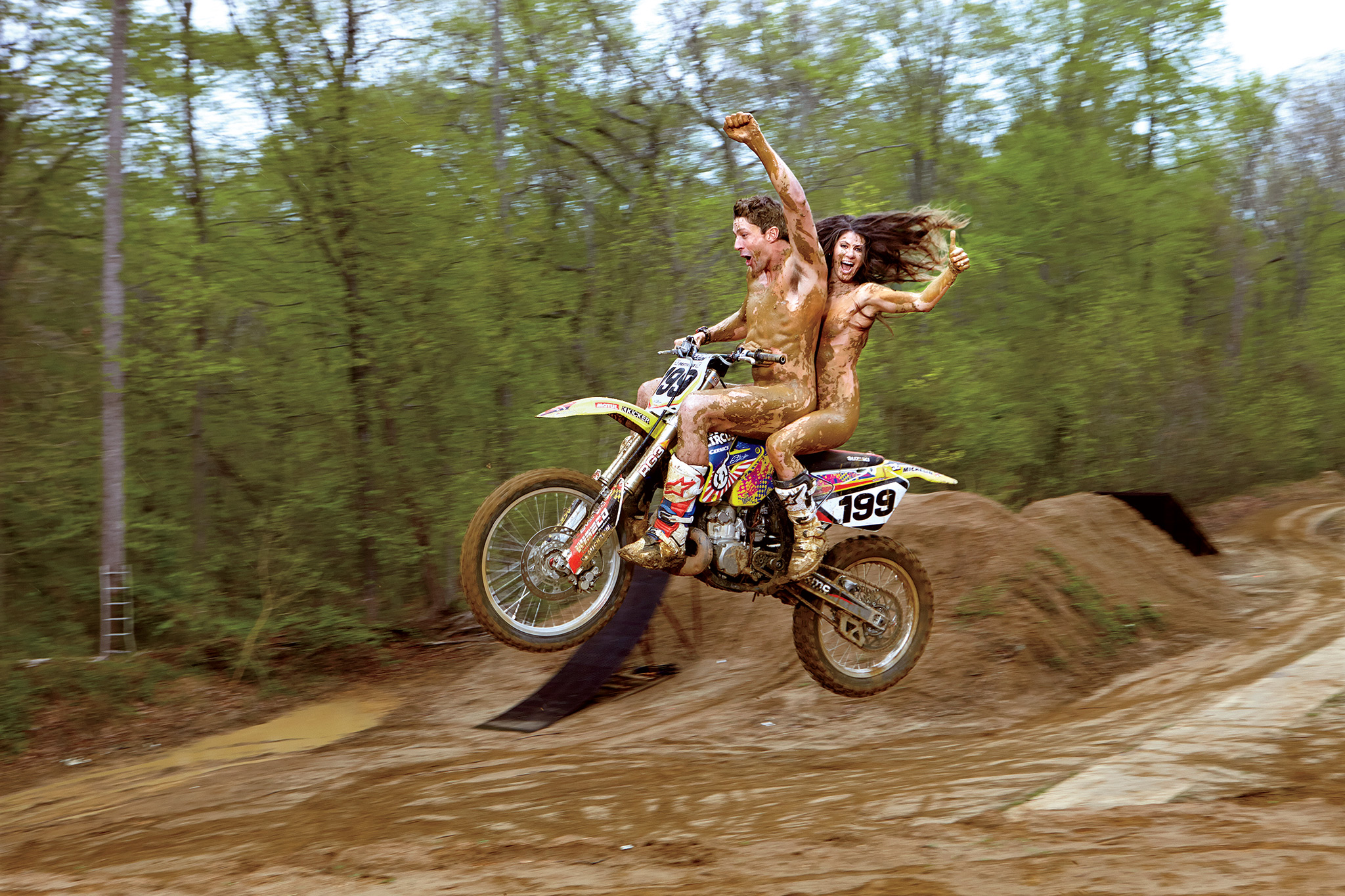 Travis Pastrana, Lyn-Z Pastrana, ESPN The Bodies We Want 2014, The Body Isue 2014, Lyn-Z Pastrana nude