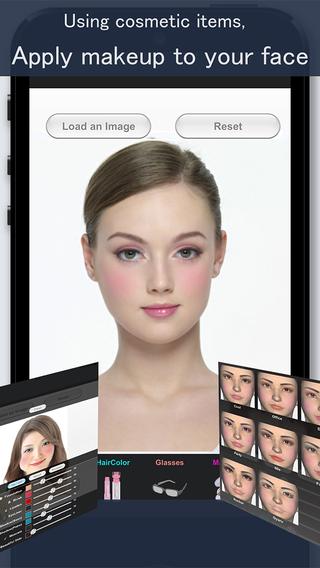 """Frisur Simulation SimFront"""" Im App Store"""