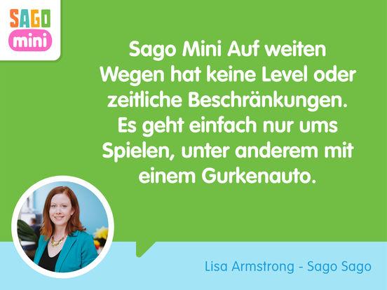 Sago Mini Auf weiten Wegen Screenshot