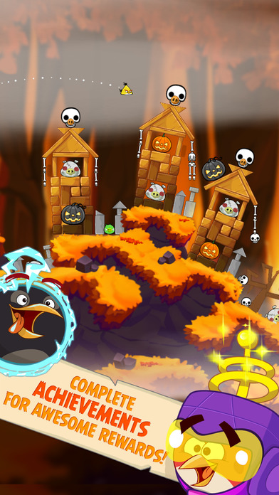 Angry Birds Seasons Screenshot