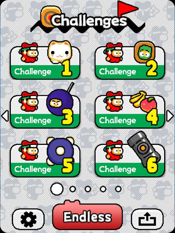 Ninja Spinki Challenges!! Screenshot