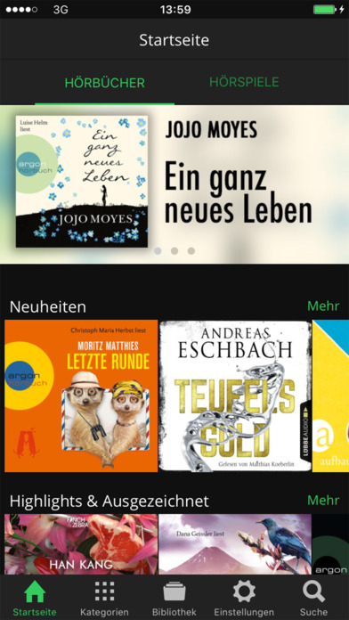 Spooks - Deine Hörbücher und Hörspiele Screenshot