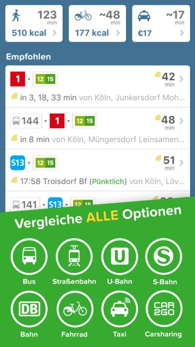 Citymapper - Routenplaner für BVG, HVV, KVB, VRR + Screenshot