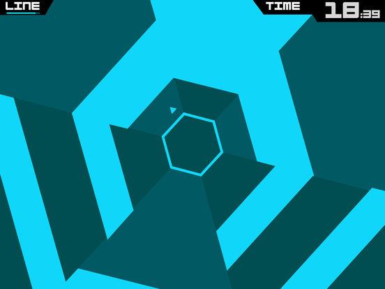 Super Hexagon Screenshot