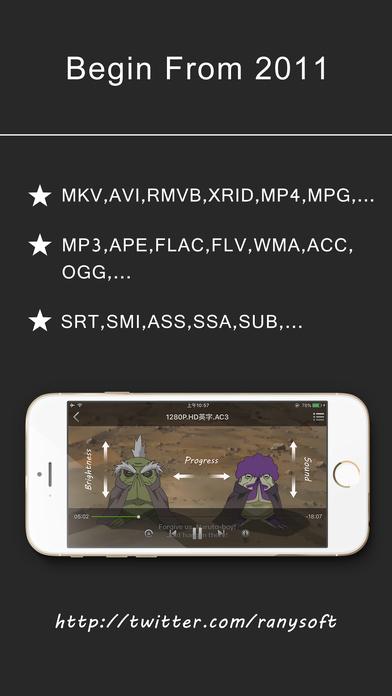 AcePlayer Plus -ベストビデオプレーヤー Screenshot