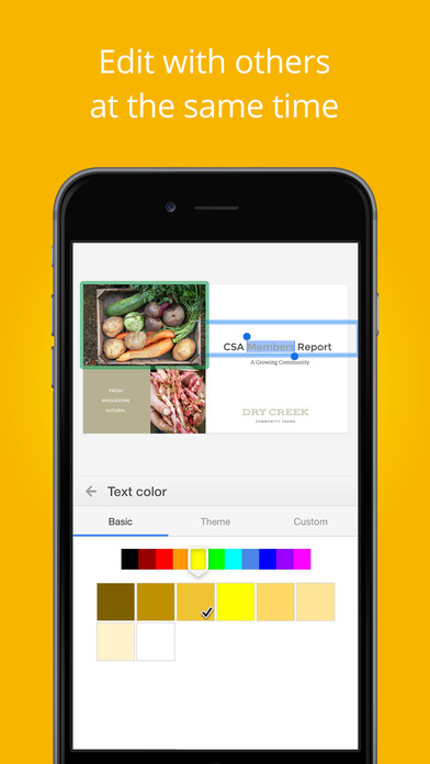 Googleスライド Screenshot