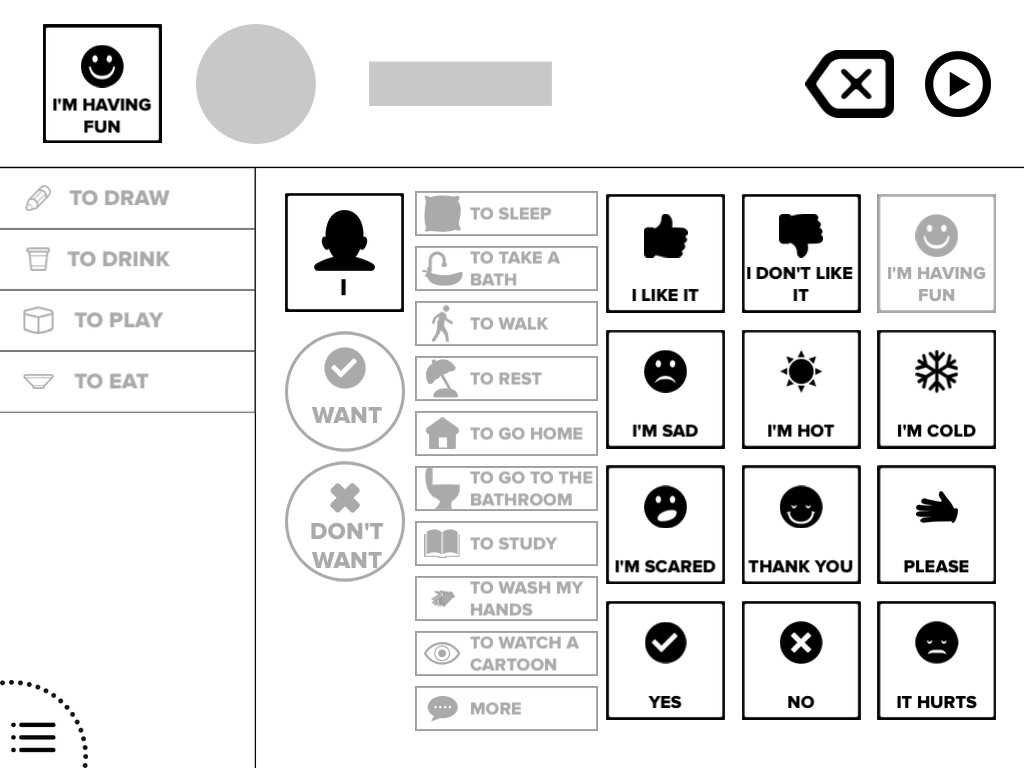 App Shopper: Touch and Speak: Autism Communication Tool