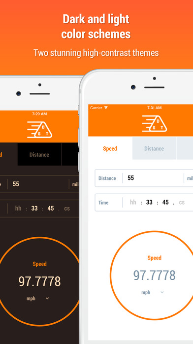 Speed Distance Time Calculator iPhone