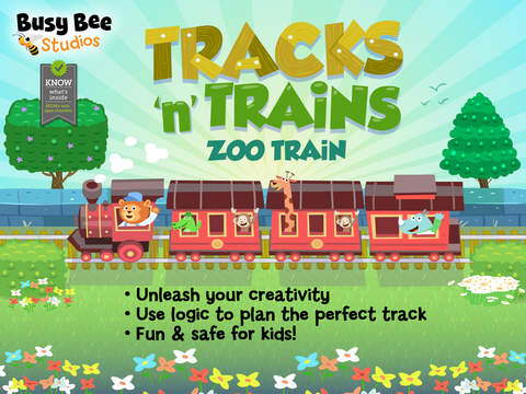 Tracks 'n' Trains Zoo Train by Busy Bee Studios – Review