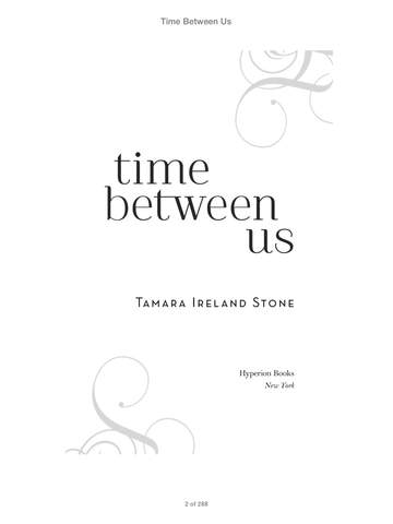 Time Between Us by Tamara Ireland Stone on iBooks