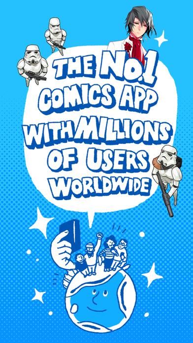 LINE WEBTOON  Free digital comics  FREE iPhone  iPad