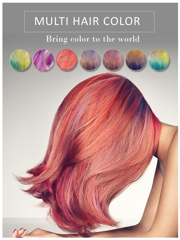Free Change App Color Hair
