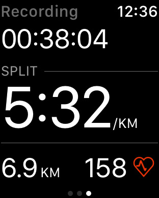 Strava Running and Cycling GPS Screenshot