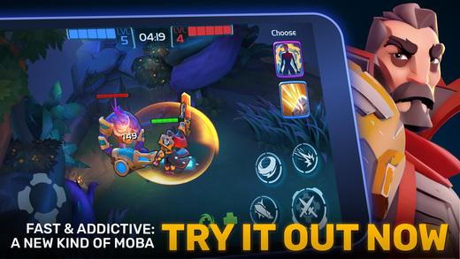 Planet of Heroes - Brawl MOBA Screenshot