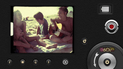 Screenshot do app 8mm Vintage Camera