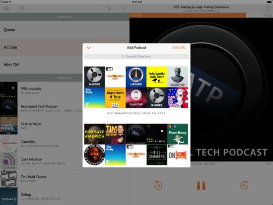 Overcast: Podcast Player Screenshot