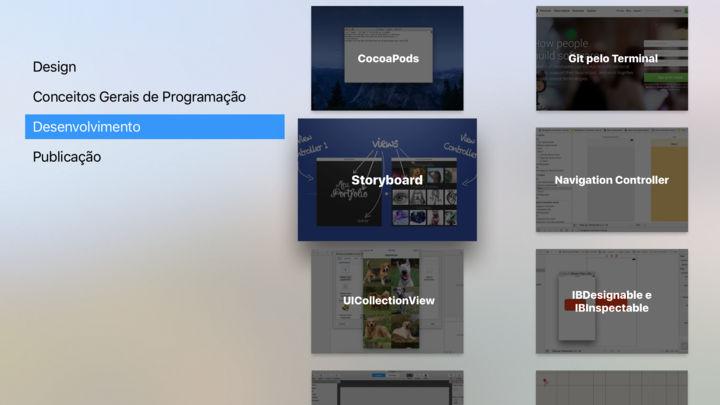 Screenshot do app DEV PUC-Rio