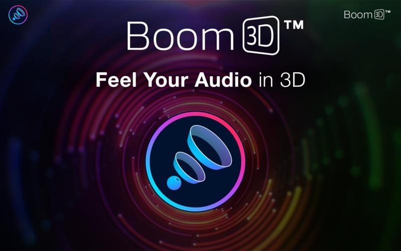 Boom 3D 1.6.13 Mac 破解版 - 强大的3D音效增强工具