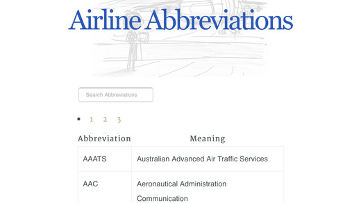 Airport Airline Codes Database on the App Store