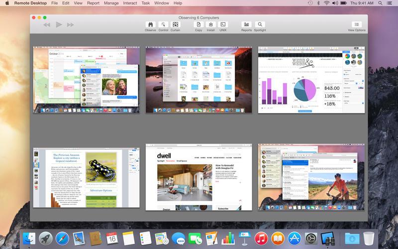 Apple Remote Desktop 3.9.4 Mac 中文破解版 - 优秀的远程桌面工具
